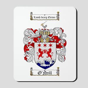 O'Neill Family Crest Mousepad