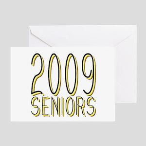 Mechanihan Gold 2009 Greeting Card