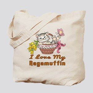 I Love My Ragamuffin Designs Tote Bag