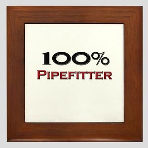100 Percent Pipefitter Framed Tile