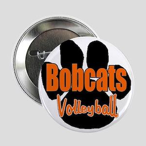 "Bobcats Volleyball 2.25"" Button"