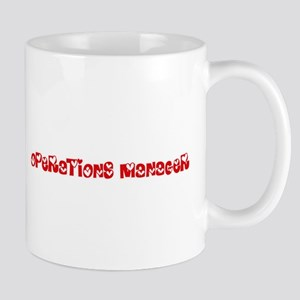 Operations Manager Profession Heart Design Mugs