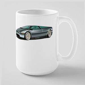 DeLorean White Background Mugs