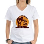 Lei'd in the Shade Women's V-Neck T-Shirt