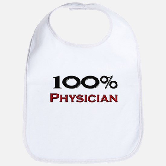 100 Percent Physician Assistant Bib