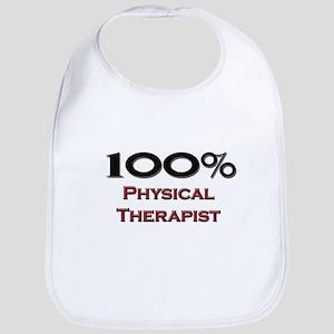 100 Percent Physical Therapist Bib