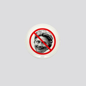 Anti Hillary Clinton Mini Button