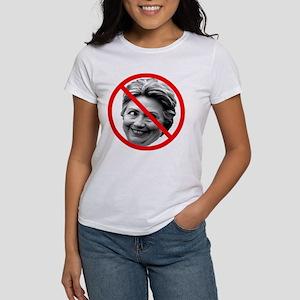Anti Hillary Clinton Women's T-Shirt