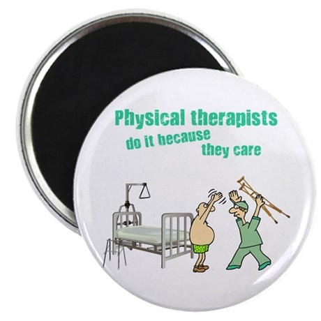 """Physical Therapists 2.25"""" Magnet (10 pack)"""