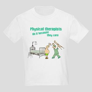 Physical Therapists Kids Light T-Shirt
