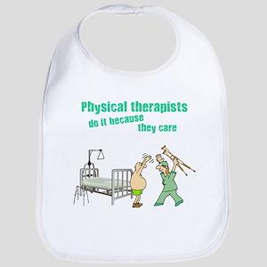 Female Physical Therapist Bib