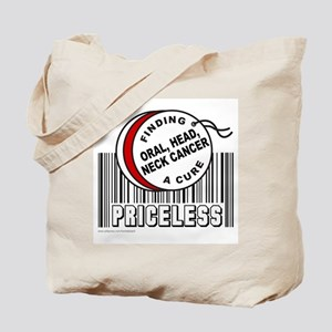 ORAL, HEAD, NECK CANCER Tote Bag