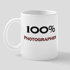 100 Percent Photographer Mug