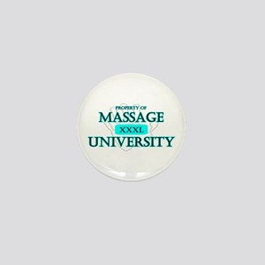 Massage University Mini Button