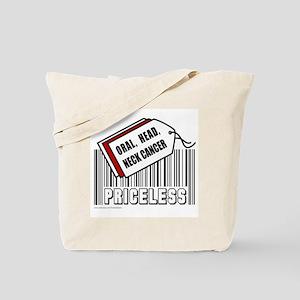 ORAL HEAD NECK CANCER Tote Bag