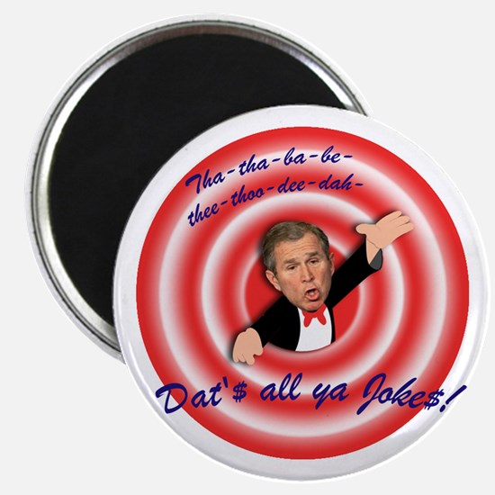 "Anti-Bush ""Dat's All"" Magnet"
