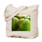 Original artwork green apples-Tote Bag