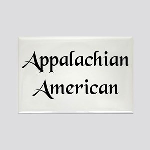 Appalachian American Rectangle Magnet