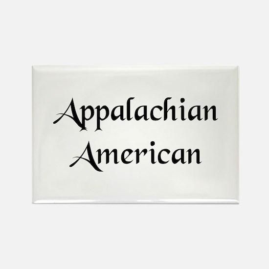 Appalachian American Rectangle Magnet