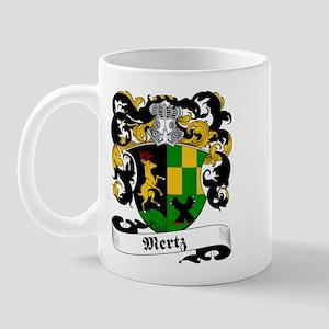 Mertz Family Crest Mug