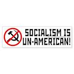 Socialism is Un-American Sticker