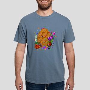 Tiger Skin Easter Egg Mens Comfort Colors Shirt
