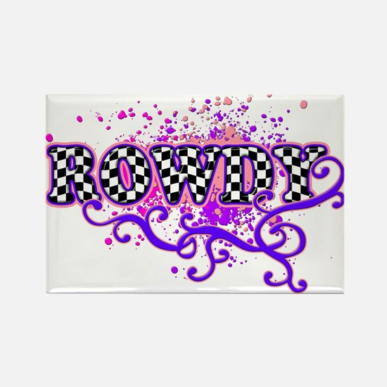 Rowdy 2 Rectangle Magnet