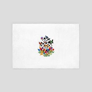 Cow Skin Easter Egg 4' x 6' Rug