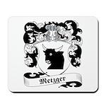 Metzger Family Crest Mousepad