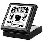 Metzger Family Crest Keepsake Box