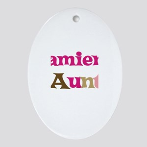 Damien's Aunt Oval Ornament