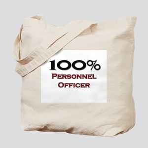 100 Percent Personnel Officer Tote Bag