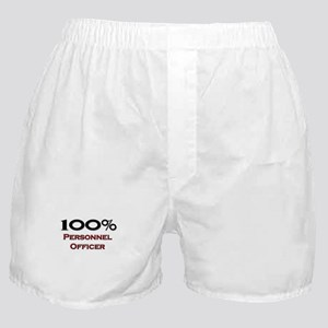 100 Percent Personnel Officer Boxer Shorts