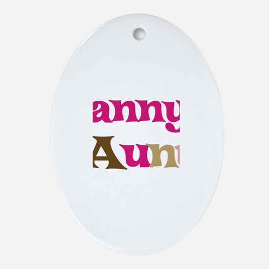 Danny's Aunt Oval Ornament