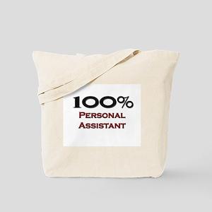 100 Percent Personal Assistant Tote Bag