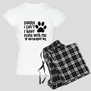 I Have Plans With My Toyger Women's Light Pajamas