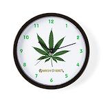 4:20 Wall Clock with AIYH Logo