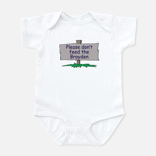 Please don't feed the Brayden Infant Bodysuit