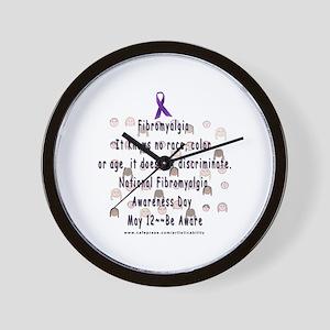 Fibro Discriminates.. Wall Clock