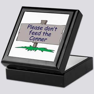 Please don't feed the Conner Keepsake Box
