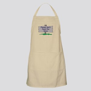 Please don't feed the Dave BBQ Apron
