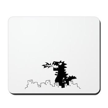 Godzilla Mousepad