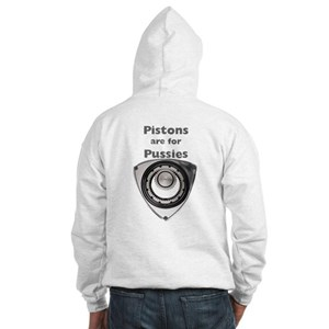Pistons are for Pussies Hooded Sweatshirt