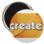 Create - Scissors - Crafts Magnet