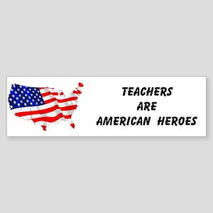 American Heroes Bumper Sticker