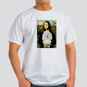 Mona/Coton de Tulear (#7) Light T-Shirt