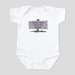 Please don't feed the Kaden Infant Bodysuit