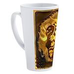GOLDEN DRAGON 17 oz Latte Mug