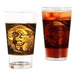 GOLDEN DRAGON Drinking Glass
