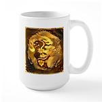 GOLDEN DRAGON 15 oz Ceramic Large Mug